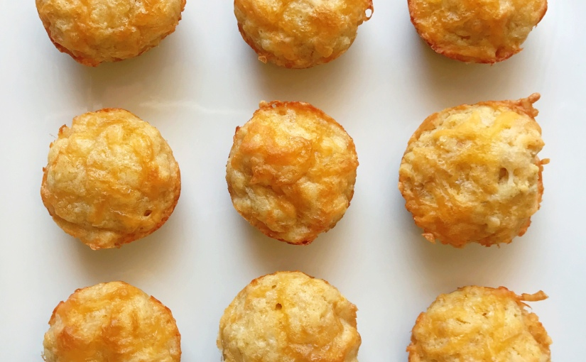 Cheesy Cauliflower Muffins